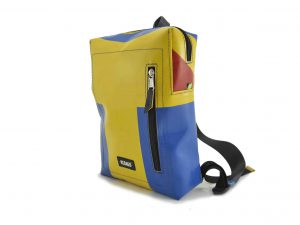 Diego small upcycling backpack