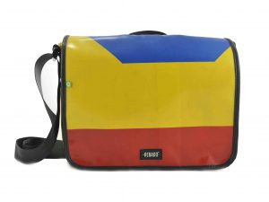 Karl upcycling laptop bag