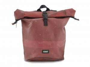 EORGE upcycling rolltop backpack