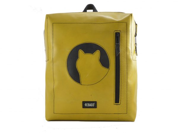 daniel upcycled backpack